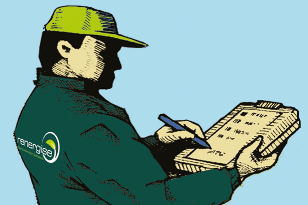 Renergise Audit Man Image