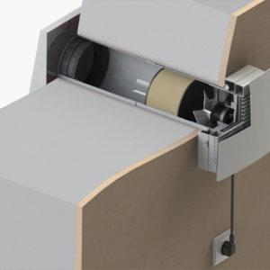 Ventilation heat recovery ventilation single room heat for Room ventilation design