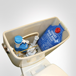 The Toilet Tank Bank WC Water Saving Device