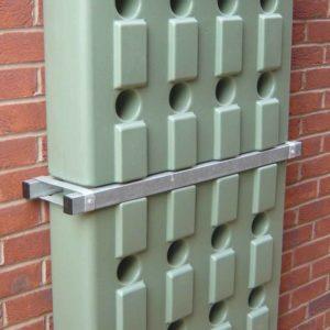 Slim Rainwater Wall Tank 220 Litre Urban Rainwater