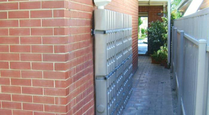 Slim Rainwater Wall Tanks