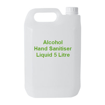 alcohol hand sanitizer liquid 5 litre can