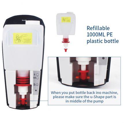 hand sanitizer dispenser for gel